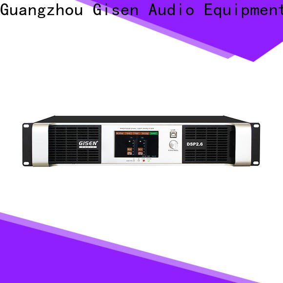 Gisen 8ohm amplifier sound system supplier for venue