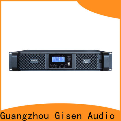 Gisen professional best power amplifier in the world wholesale for venue