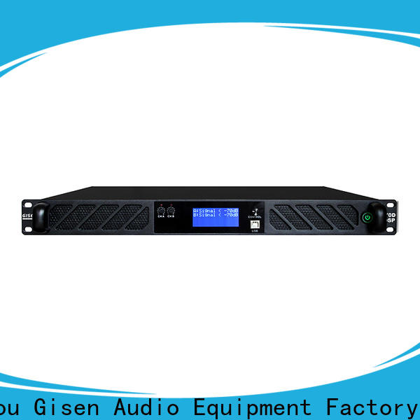high quality dsp power amplifier 2100wx4 manufacturer for stage