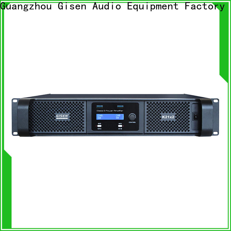 high efficiency class d audio amplifier professional fast delivery for stadium