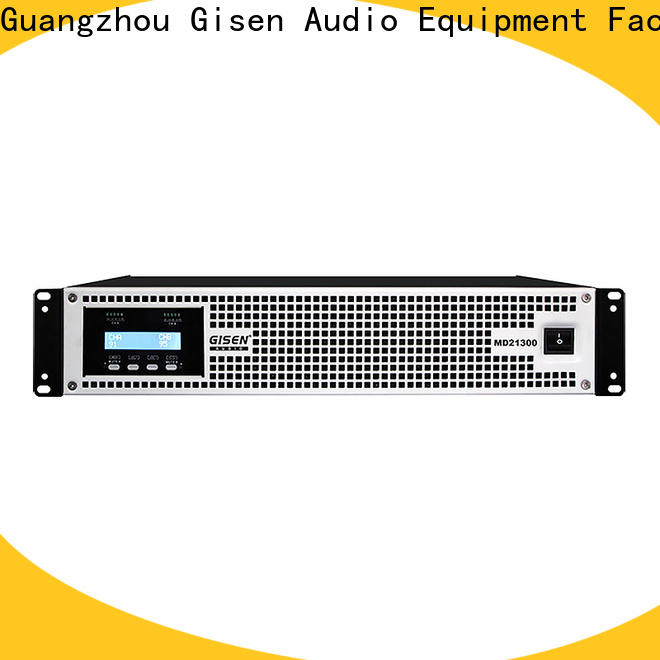 Gisen hot selling best audio amplifier sale price for performance