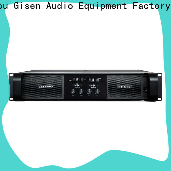 Gisen unbeatable price professional amplifier get quotes for performance