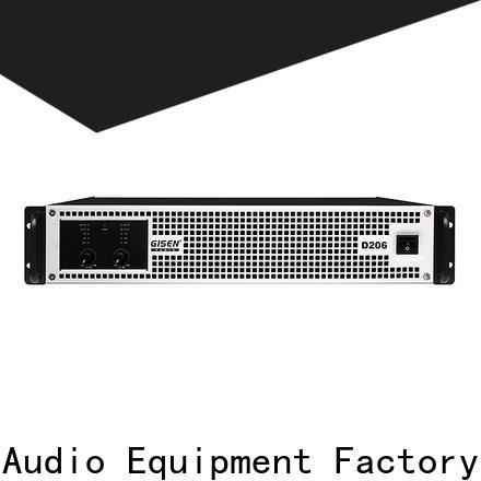 Gisen class class d digital amplifier supplier for meeting