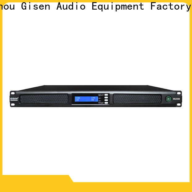 Gisen class professional power amplifier series for performance