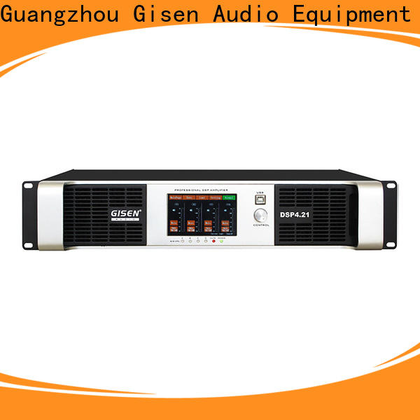 Gisen professional studio amplifier manufacturer for performance