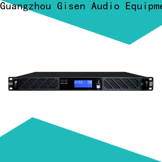 Gisen 4 channel amplifier power factory for performance