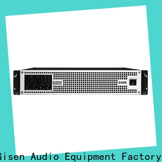 Gisen class digital audio amplifier fast shipping for meeting