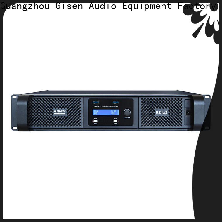 Gisen full range hifi class d amplifier fast delivery for entertaining club