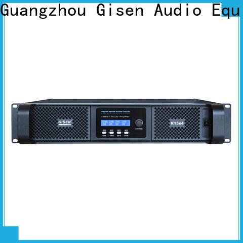 Gisen 8ohm digital audio amplifier supplier for ktv