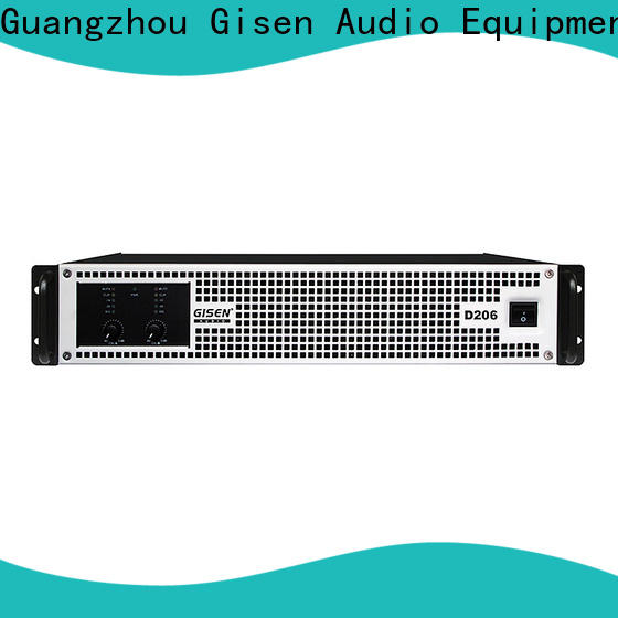 Gisen guangzhou dj amplifier fast delivery for performance