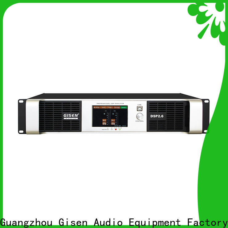 high quality 1u amplifier 4 channel factory for venue