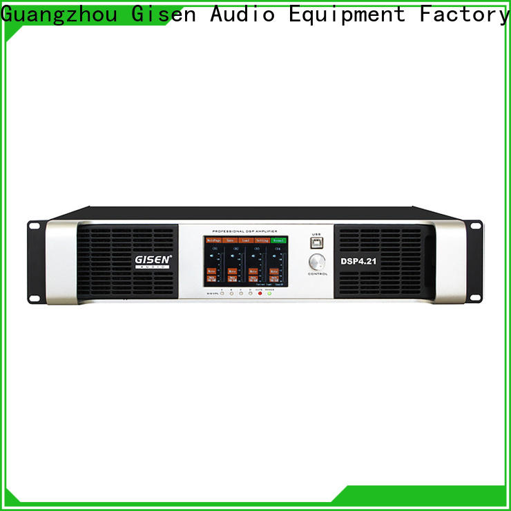 Gisen multiple functions amplifier sound system factory for venue