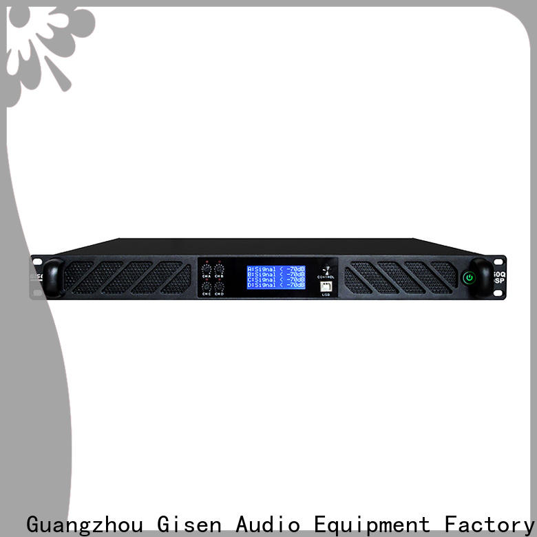 Gisen high quality 1u amplifier wholesale