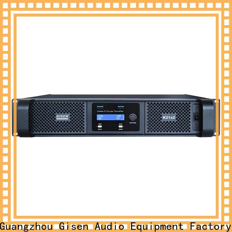 guangzhou class d audio amplifier 2100wx4 supplier for stadium