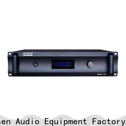 Gisen oem odm integrated stereo amplifier manufacturer for private club