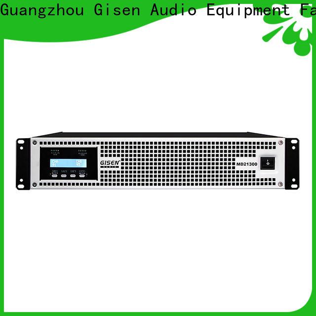 Gisen hot selling stereo amp terrific value for performance