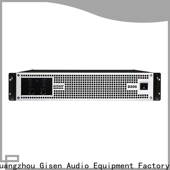 Gisen amplifier top 10 power amplifiers manufacturer for entertaining club