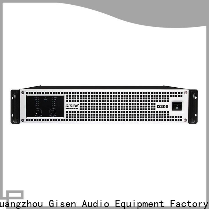 Gisen amplifier top 10 power amplifiers manufacturer for entertaining club
