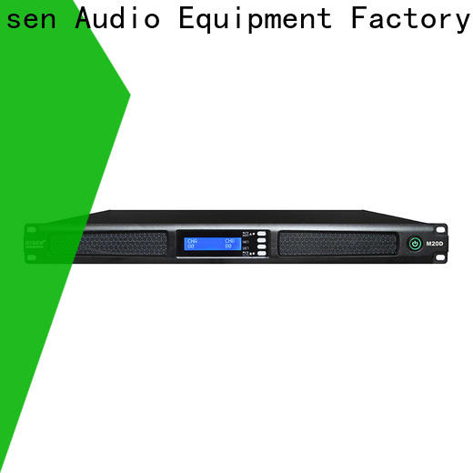 Gisen 1u 4 channel amplifier series for performance