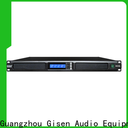 Gisen 2channel professional power amplifier supplier for venue