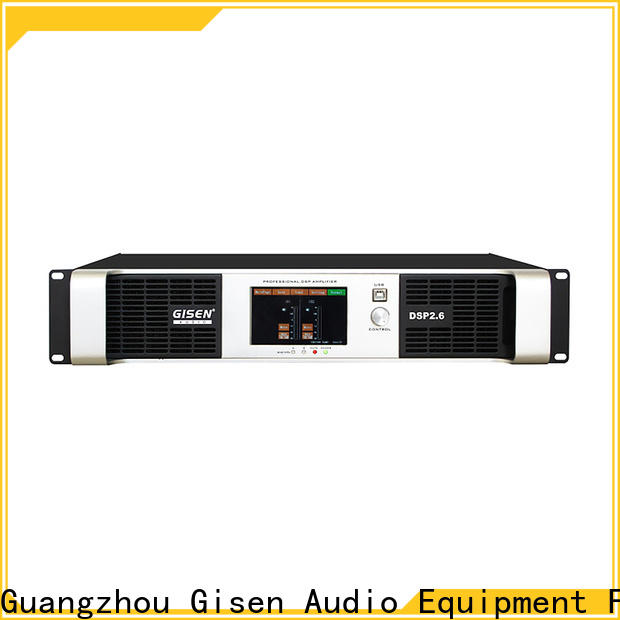 Gisen high quality amplifier sound system factory for various occations