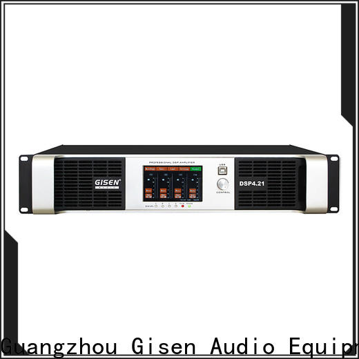 Gisen multiple functions best power amplifier in the world factory for performance