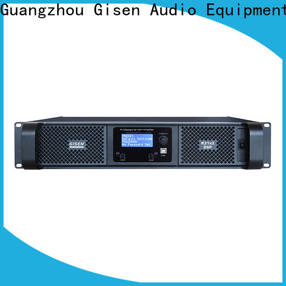 Gisen high quality amplifier power factory for venue