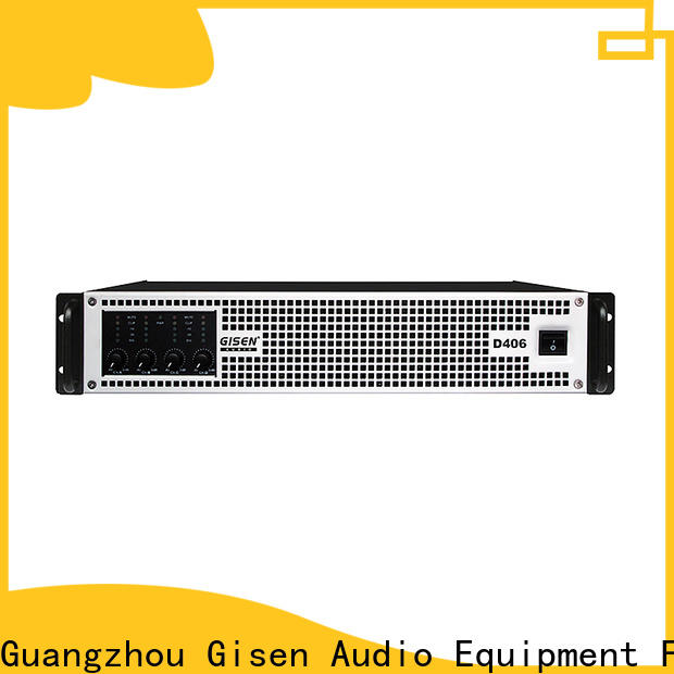 Gisen guangzhou top 10 power amplifiers manufacturer for meeting