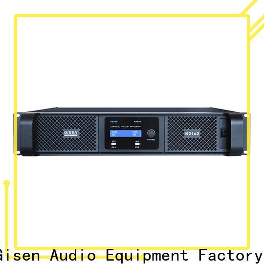 advanced class d audio amplifier 2100wx2 supplier for stadium