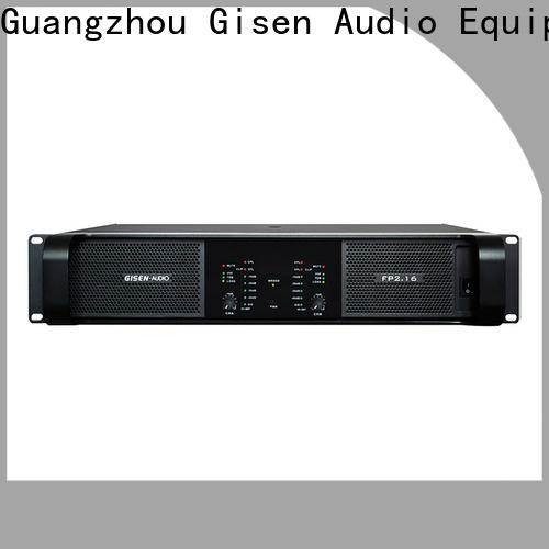 Gisen popular stereo amplifier one-stop service supplier for performance