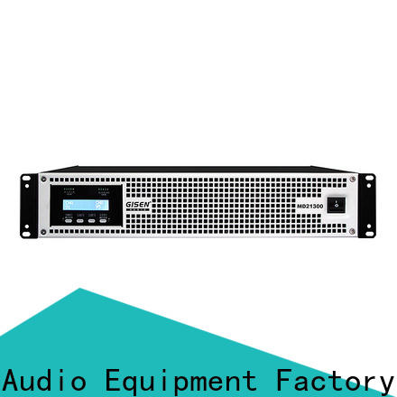 Gisen hot selling high end amplifiers sale price for vocal concert