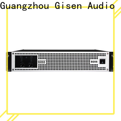 guangzhou top 10 power amplifiers 2100wx4 manufacturer for entertaining club