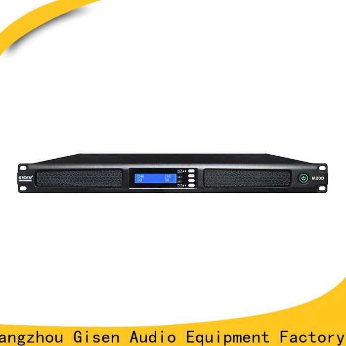 new model audio amplifier 4 channel series for venue