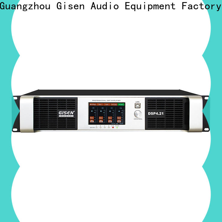 multiple functions amplifier sound system 1u factory for venue