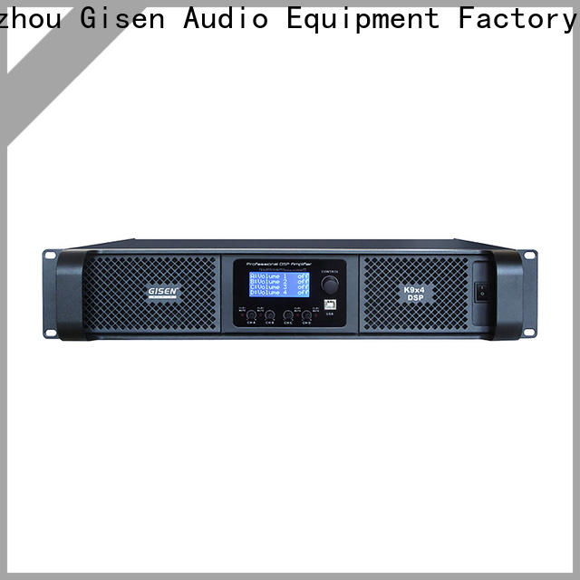 Gisen professional amplifier sound system wholesale for various occations