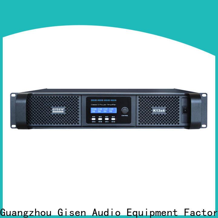 Gisen advanced class d amplifier wholesale for ktv
