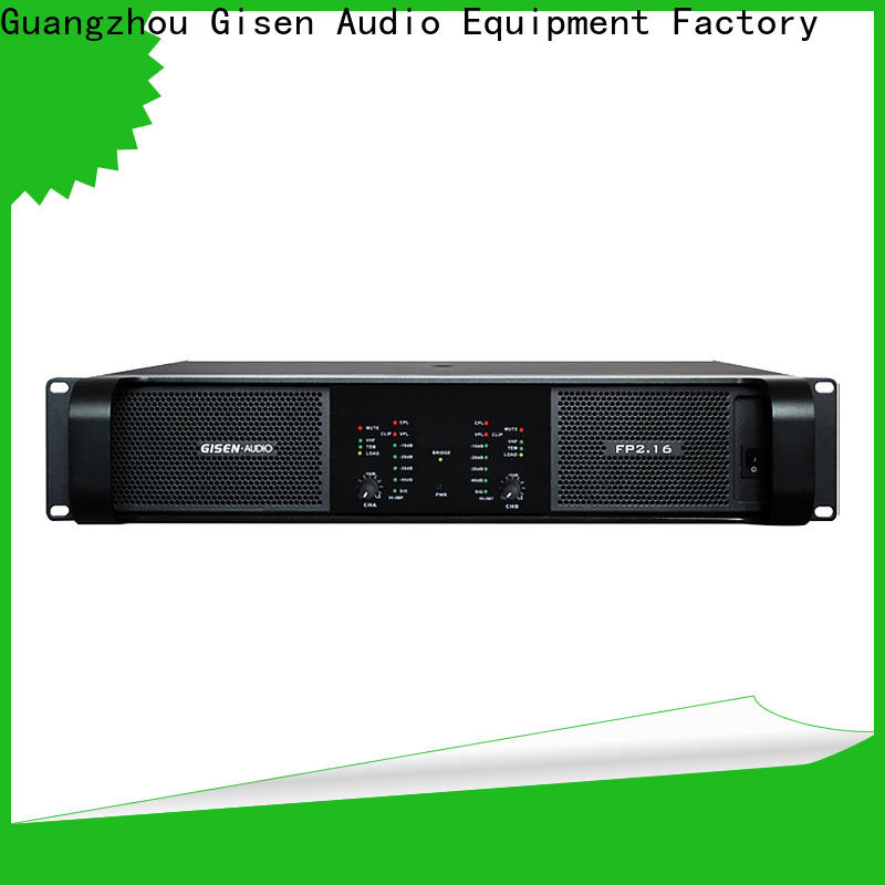 Gisen power home audio amplifier source now for performance