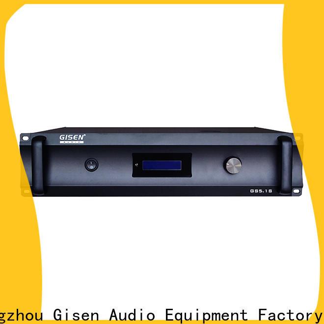 Gisen oem odm home theater amplifier supplier for ktv