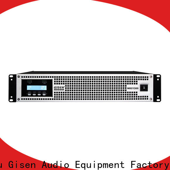 Gisen competitive price best audio amplifier crazy price for stadium