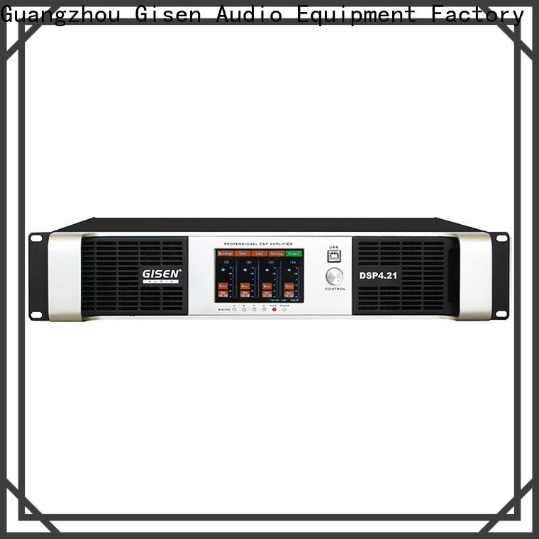 multiple functions dj power amplifier 2100wx2 factory for venue
