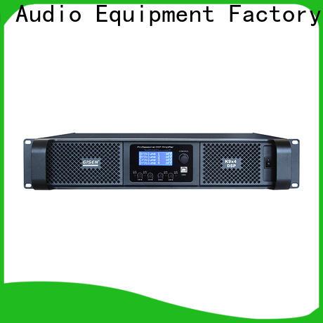 Gisen german 1u amplifier manufacturer for stage