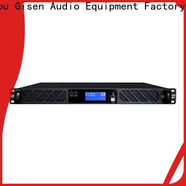 professional studio amplifier 2100wx4 factory