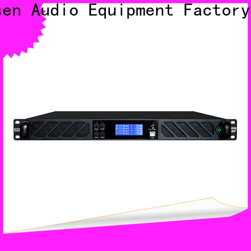 Gisen professional multi channel amplifier manufacturer for various occations