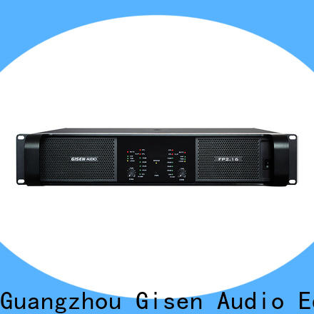Gisen quality assurance power amplifier class td source now for night club