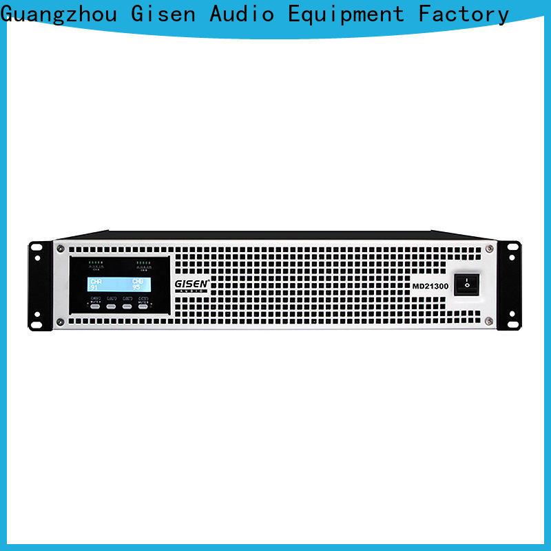 Gisen strict inspection best surround sound amplifier crazy price for stadium