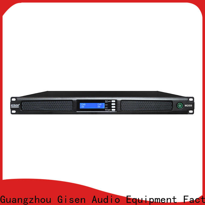 Gisen new model 4 channel power amplifier wholesale for entertainment club