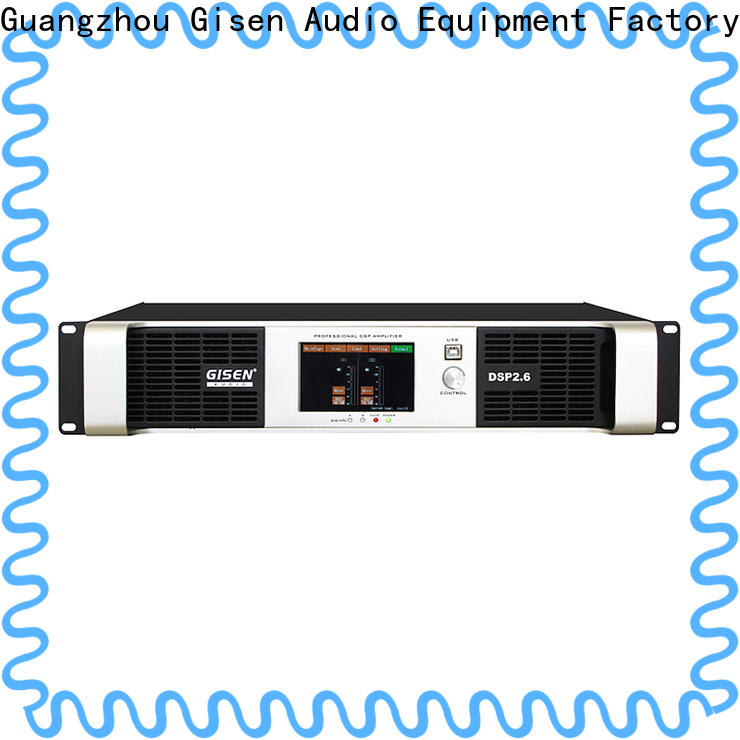 Gisen high quality amplifier power supplier for performance