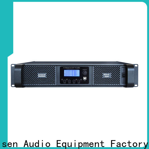 Gisen 2 channel amplifier sound system manufacturer for various occations