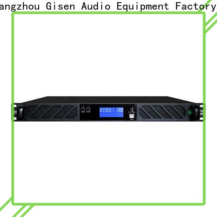 Gisen multiple functions dsp amplifier supplier