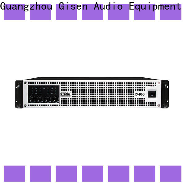 Gisen amplifier dj amplifier supplier for meeting
